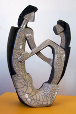 Sculpture piece created by Ross Hale and is for sale